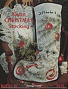 Leaflet 30 Kitten Christmas Stocking