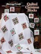cover of Stoney Creek cross stitch Leaflet 310 Quilted Christmas Blocks THUMBNAIL