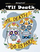 cover of Stoney Creek wedding cross stitch Leaflet 311 'Til Death do us part THUMBNAIL