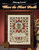 cover of Stoney Creek cross stitch Leaflet 313 Where the Heart Dwells THUMBNAIL