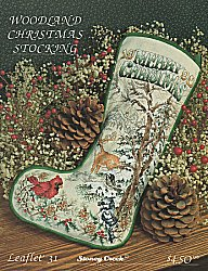 Leaflet 31 Woodland Christmas Stocking MAIN
