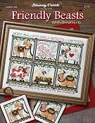 Leaflet 331 Friendly Beasts w/ Ornaments