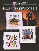 Leaflet 343 Halloween Ornaments III THUMBNAIL