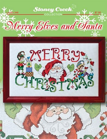 Leaflet 346 Merry Elves and Santa