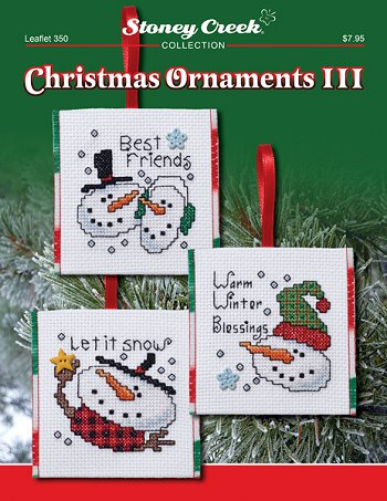 leaflet 350 christmas ornaments iii