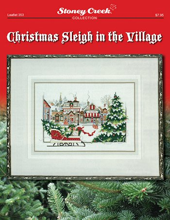 Leaflet 353 Christmas Sleigh in the Village