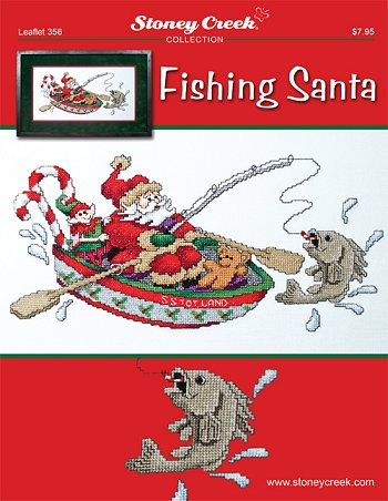 Leaflet 356 Fishing Santa