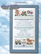 Leaflet 359 Boys & Toys Birth Sampler
