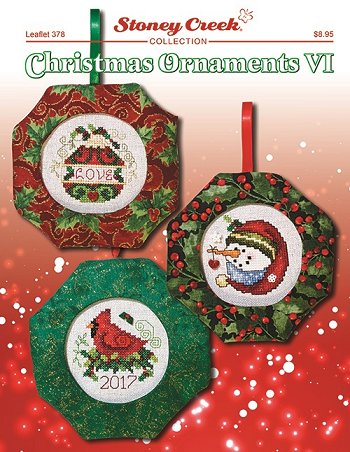 Leaflet 378 Christmas Ornaments VI MAIN