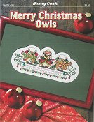 Leaflet 400 Merry Christmas Owls