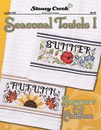 Leaflet 405 Seasonal Towels I - Summer & Autumn THUMBNAIL
