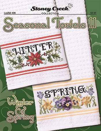 Leaflet 406 Seasonal Towels II - Winter & Spring THUMBNAIL
