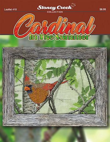 Leaflet 410 Cardinal in the Summer THUMBNAIL