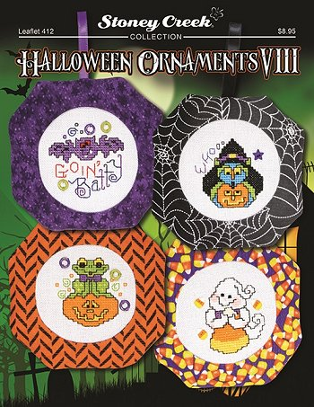 Leaflet 412 Halloween Ornaments VIII THUMBNAIL