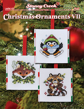 Leaflet 420 Christmas Ornaments VII THUMBNAIL