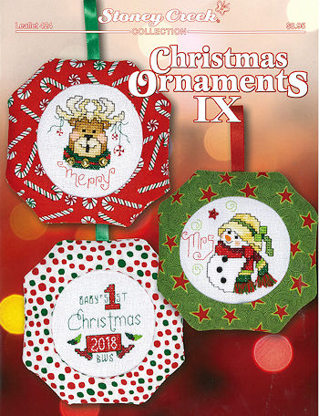 Leaflet 424 Christmas Ornaments IX THUMBNAIL