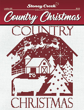 Leaflet 428 Country Christmas THUMBNAIL