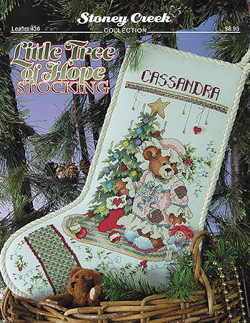 Leaflet 436 Little Tree Of Hope Stocking MAIN