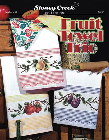 Leaflet 437 Fruit Towel Trio MAIN