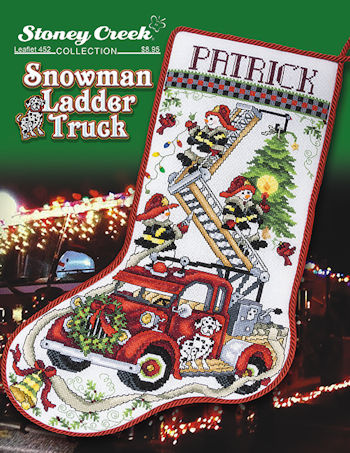 Image result for snowman ladder truck by stoney creek