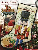 Leaflet 461 Toy Soldier Stocking THUMBNAIL