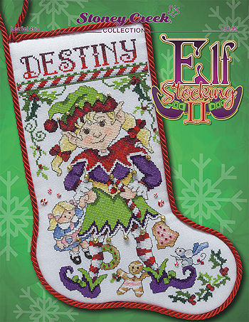 Leaflet 463 Elf Stocking II MAIN