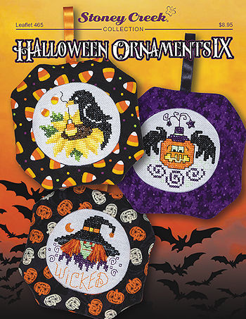 Leaflet 465 Halloween Ornaments IX MAIN