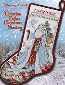 Leaflet 487 Victorian Father Christmas Stocking THUMBNAIL