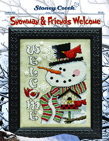 Leaflet 493 Snowman & Friends Welcome MAIN