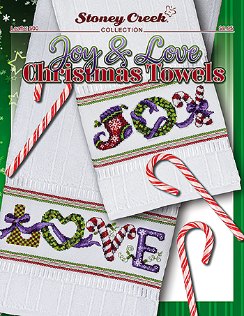 Leaflet 500 Joy & Love Christmas Towels MAIN