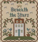 Little House Needleworks - Sun, Moon and Stars Chart Pack - Beneath The Stars