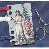 Liberty For All Vintage Postcard Threadkeep