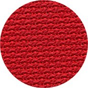 Linen 28ct Christmas Red
