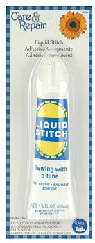 Liquid Stitch No Sew Fabric Glue 1.25 oz Tube MAIN