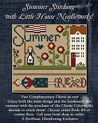 Little House Needleworks - Summer Stitching Threads w/ Free Chart