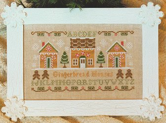 Country Cottage Needleworks - Gingerbread Houses MAIN