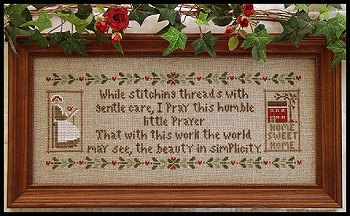 Little House Needleworks - A Stitcher's Prayer MAIN