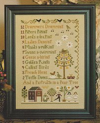 12 Days Of Christmas Cross Stitch.Little House Needleworks 12 Days Of Christmas