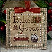 Little House Needleworks - 2011 Ornament #7 - Baked Goods THUMBNAIL