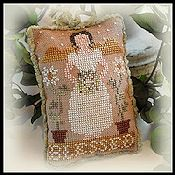 Little House Needleworks - 2012 Ornament #1 - Blessed THUMBNAIL