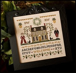 Little House Needleworks - Colonial Welcome MAIN