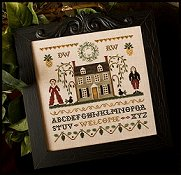 Little House Needleworks - Colonial Welcome THUMBNAIL