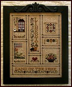 Little House Needleworks - Heart of America Chart & Threads THUMBNAIL