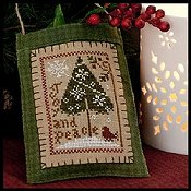 Little House Needleworks - 2011 Ornament #9 - Joy and Peace THUMBNAIL