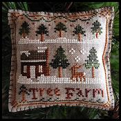 Little House Needleworks - 2012 Ornament #2 - Tree Farm