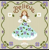 Little House Needleworks - Once Upon A Time Series - Believe