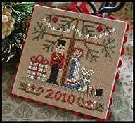 Little House Needleworks - Ornament #10 - Under The Tree_THUMBNAIL