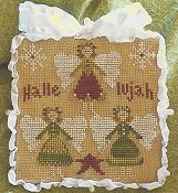 Little House Needleworks - 2011 Ornament #8 - Hallelujah THUMBNAIL