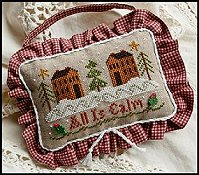 Little House Needleworks - Ornament #11 -  All Is Calm