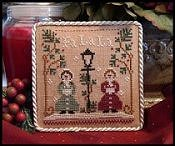 Little House Needleworks - 2010 Ornament #1 - Fa La La THUMBNAIL